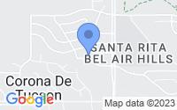 Map of Corona de Tucson AZ