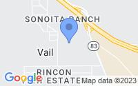 Map of Vail AZ