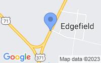 Map of Edgefield LA