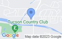 Map of Tucson AZ