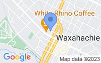 Map of Waxahachie TX