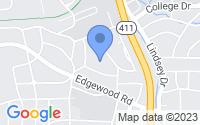 Map of Columbus GA