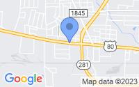 Map of Longview TX