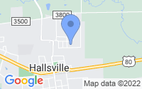 Map of Hallsville TX