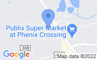 Map of Phenix City AL
