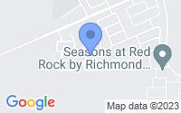Map of Red Rock AZ