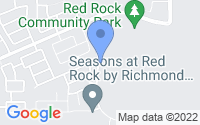 Map of Red Rock AZ