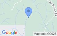 Map of Box Springs GA