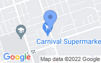 Map of Chula Vista CA