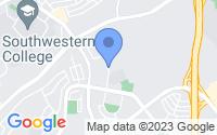 Map of Chula Vista CA
