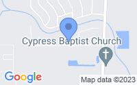 Map of Benton LA