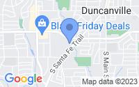 Map of Duncanville TX