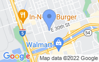 Map of National City CA