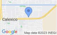 Map of Calexico CA