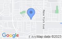 Map of Arlington TX
