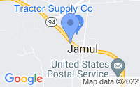Map of Jamul CA