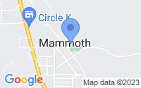 Map of Mammoth AZ
