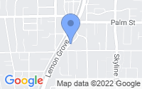 Map of Lemon Grove CA
