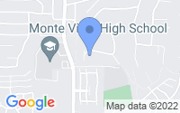 Map of Spring Valley CA