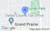Map of Grand Prairie TX