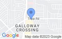 Map of Mesquite TX