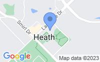 Map of Heath TX