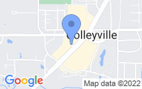 Map of Colleyville TX