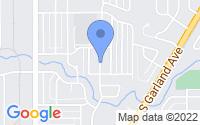 Map of Garland TX