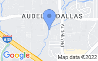 Map of Dallas TX
