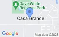 Map of Casa Grande AZ