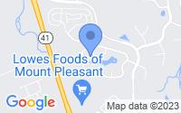 Map of Mount Pleasant SC