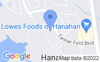 Map of Hanahan SC