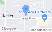 Map of Keller TX