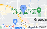 Map of Grapevine TX