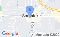 Map of Southlake TX