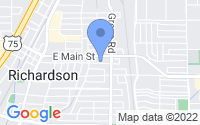 Map of Richardson TX