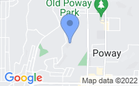 Map of Poway CA