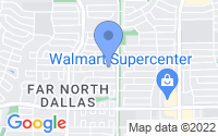 Map of Dallas TX