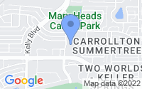 Map of Carrollton TX