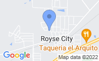 Map of Royse City TX