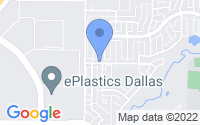 Map of Coppell TX