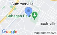 Map of Summerville SC