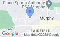 Map of Murphy TX
