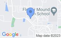 Map of Flower Mound TX