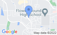 Map of Flower Mound TX