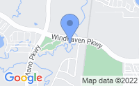 Map of The Colony TX