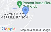 Map of Florence AZ