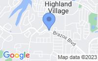 Map of Highland Village TX