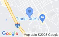 Map of Escondido CA