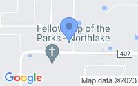 Map of Northlake TX